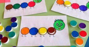 изучаем цвета с детьми